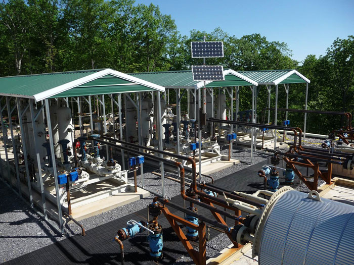 Natural Gas Stations >> WELL PAD FACILITIES - VAVCO LLC
